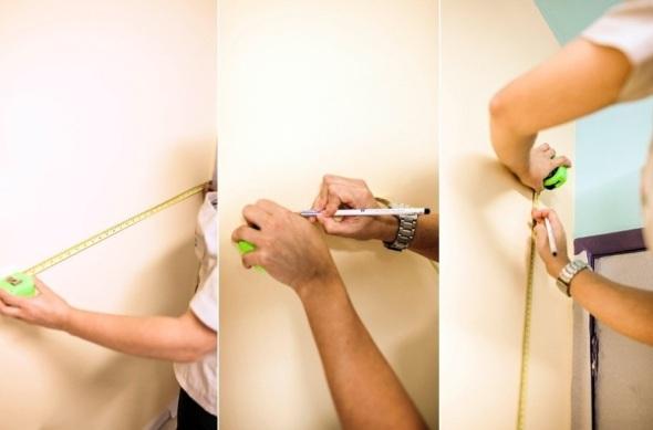 1º Passo - Escolha a área e marque com o lápis. Fonte: UOL